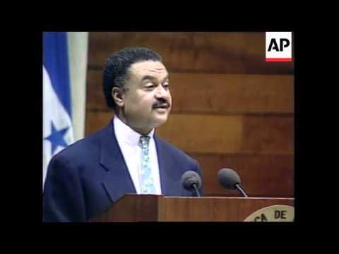 NICARAGUA: US SECRETARY OF COMMERCE RON BROWN FORUM SPEECH