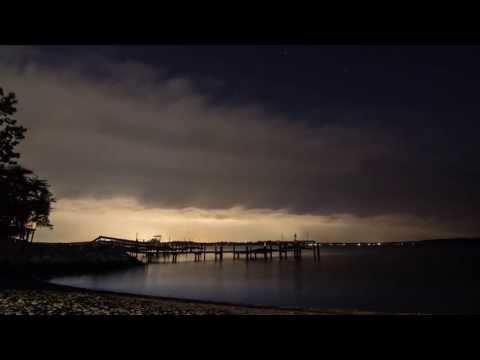 Strong Thunderstorm Timelapse - Annapolis Maryland