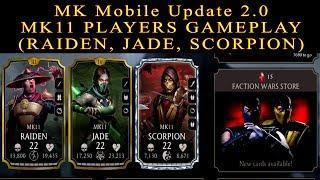 Download Mortal Kombat Mobile Update 2 0 New Unreleased