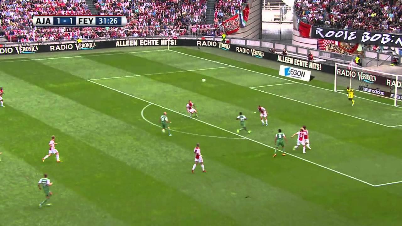 Ajax vs Feyenoord (Eredivisie 2013-2014 - Round 3 ...