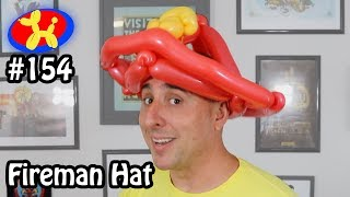 Fireman Hat - Balloon Animal Lessons #154
