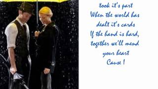 Singing in the Rain/Under my Umbrella - Glee Cast- Lyrics
