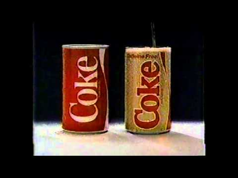 Caffine Free Coke Introduction Commercial
