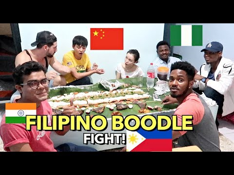 MIXED RACE FOREIGNERS eating FILIPINO FOOD Together! What DO THEY THINK of FILIPINO FOOD?