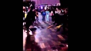 Bailando el jarabe la chilena en la villa