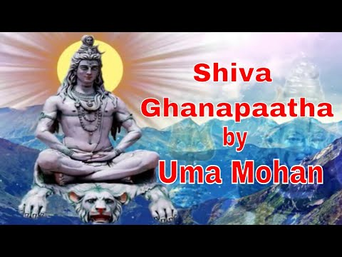 SHIVA GHANAPAATHA (Full Video) BY UMA MOHAN | SHIVA MANTRA | Times Music Spiritual
