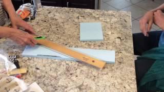 2 Cutting the f๐am board
