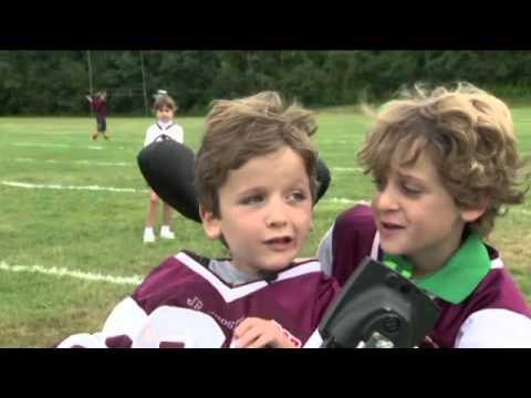 Dream Come True: Wheelchair-Bound Boy Scores Touchdown