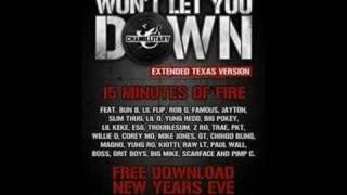 Won T Let You Down 18 MIN EXTENED REMIX Part 1