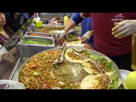 DELICIOUS Turkish Street Food Street Food in Dubai || Dubai Street Food || Dubai Red & Blue✓