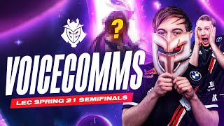 Caps Champion Pool Leaked! | LEC Spring 2021 Playoffs Semi-Final vs Rogue Voicecomms