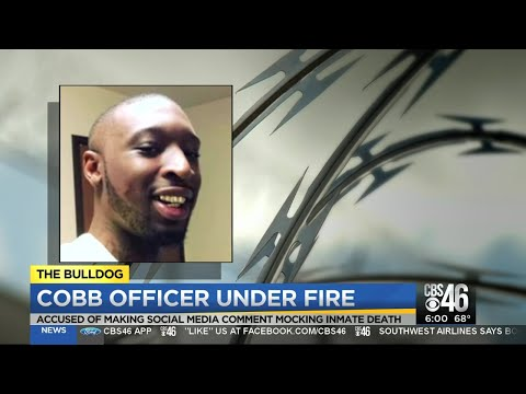 Cobb County Detective Under Fire For Comments After Inmate Death