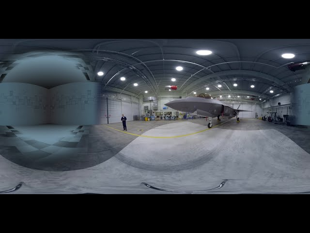 360 VIDEO: F-35 Test Pilot Walkaround