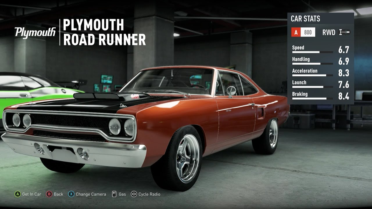 Forza Fast And Furious Cars Free