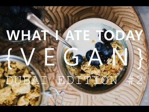 What I Ate Today | Vegan in Dubai #2 | Vegan Restaurant Tidjoori and Wild & the Moon Event