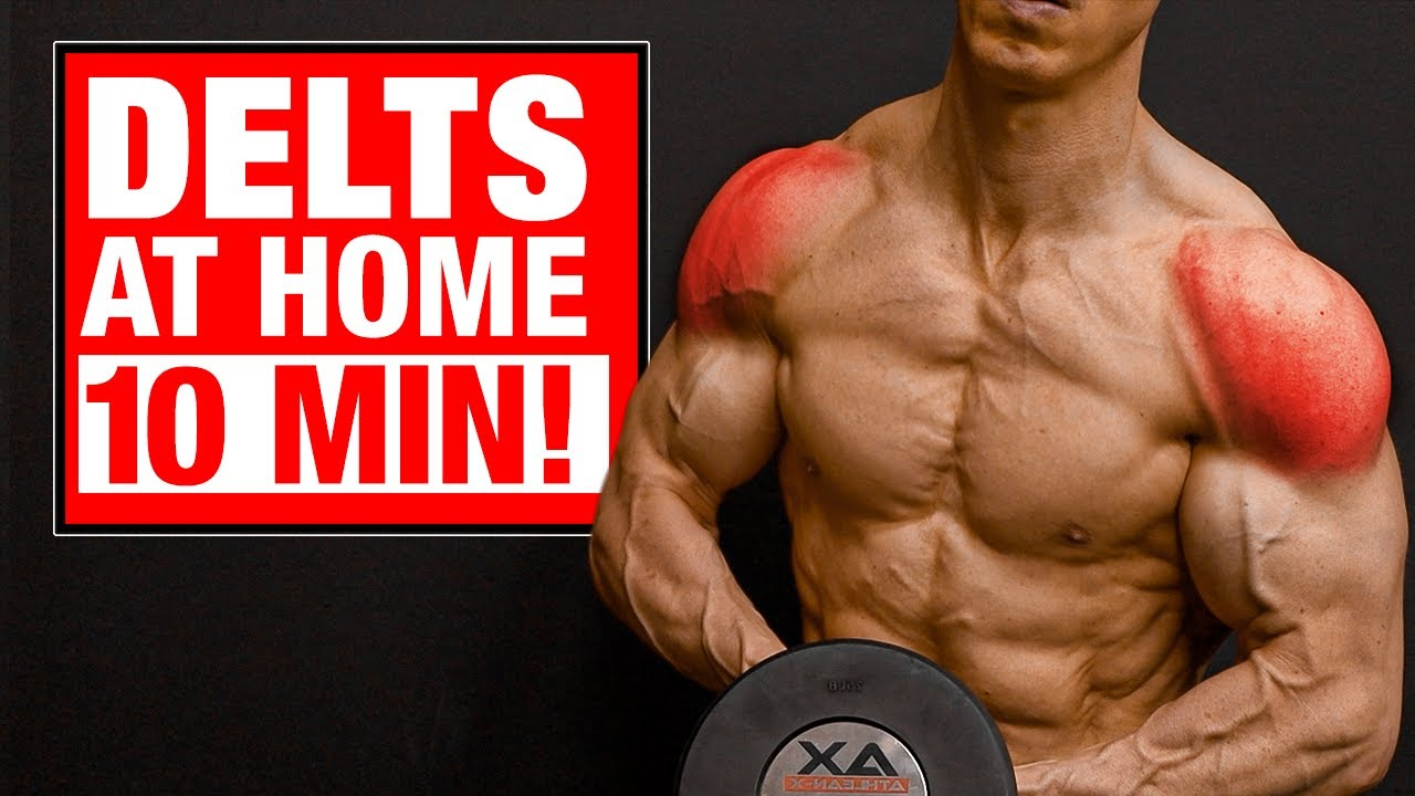 10 Min | Home Shoulder Workout