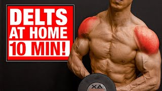 10 Min | Home Shoulder Workout (SETS AND REPS INCLUDED!)