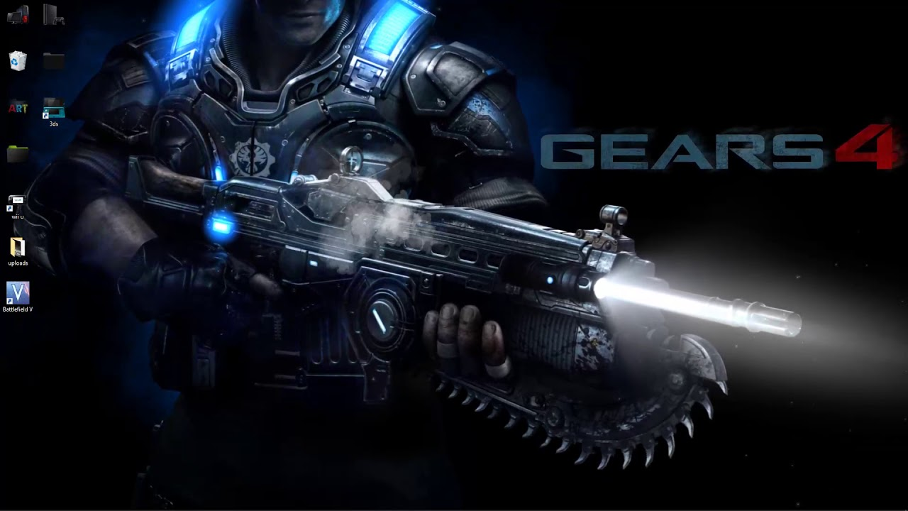 Gears Of War 4 Max Frame Live Wallpaper Youtube