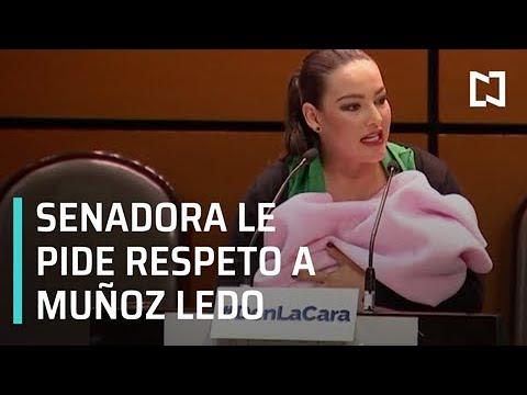 Senadora con bebé en brazos ¿recibe burla de Muñoz Ledo? - En Punto con Denise Maerker