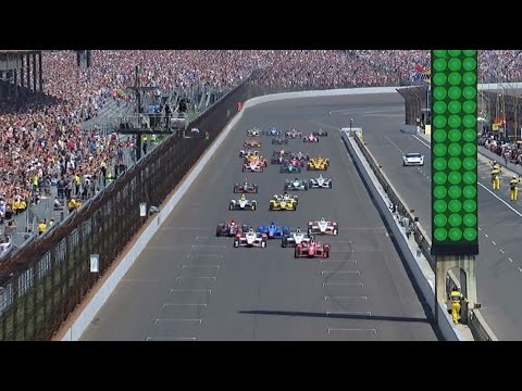 2015 Indy 500 Highlights
