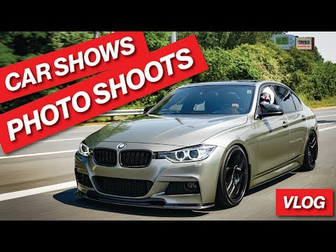 FIRST CAR SHOWS WITH THE NEW WRAP, PHOTOSHOOTS & A WEEKEND VLOG