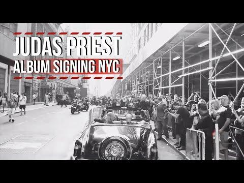 Judas Priest Album Signing NYC July 8, 2014