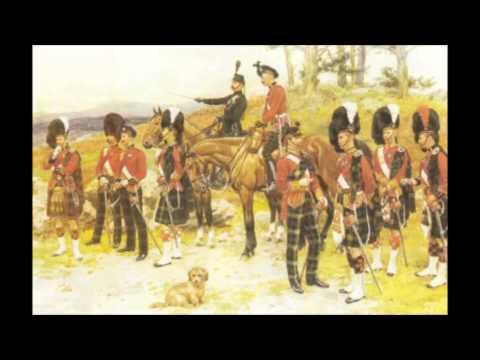 Kings Own Scottish Borderers - Barren Rocks of Aden and Marie's Wedding