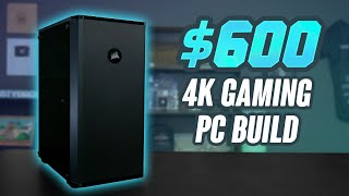 In today's video we are trying to build a 4k gaming pc for only $600. is it possible? kinda, the results were very interesting! -gvgmall- 20% coupon code for...