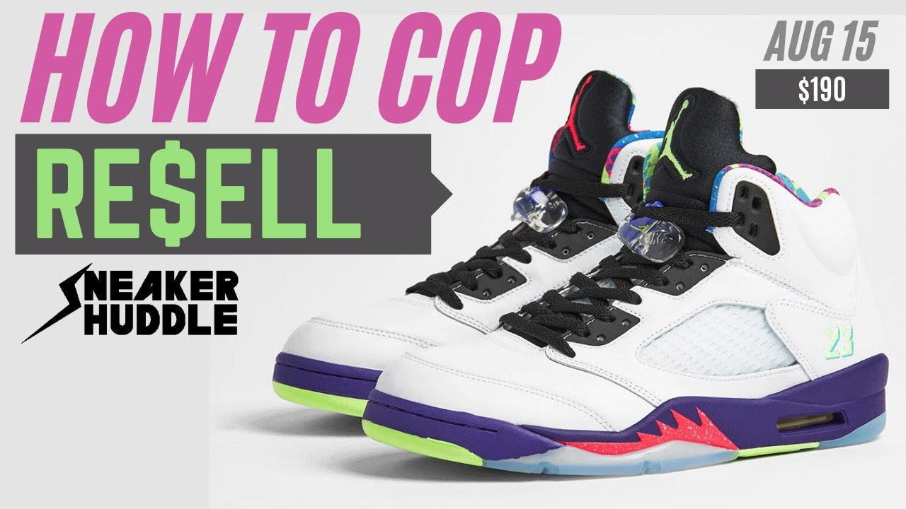 Air Jordan 5 'Ghost Green' 'Alternate Bel Air' | How to Cop + Resell Prediction