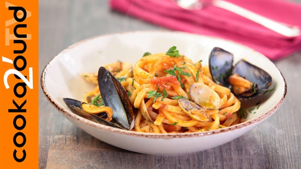 Scialatielli cozze e vongole ricette primi piatti pesce for Primi piatti pesce