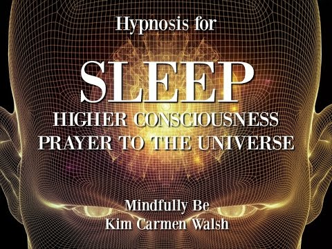 Hypnosis to access higher consciousness before sleep  |  Prayer to the universe ॐ