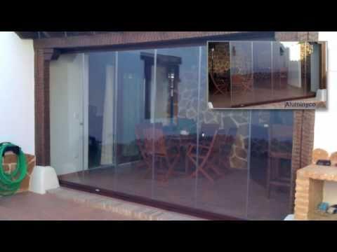 Acristalamiento De Terrazas Aluminyco Mundo Cristal Youtube