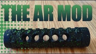 The AR mod by TAC mods ( Mechanical mod )