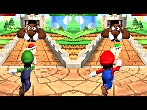 Mario party 9 ! Minigames ! Mairo vs Luigi vs Birdo vs Toad (Master Cpu Dificulty)