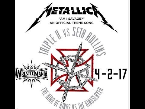 Metallica song Am I Savage chosen for 'Wrestlemania 33' - Jamey Jasta new solo album streams..!