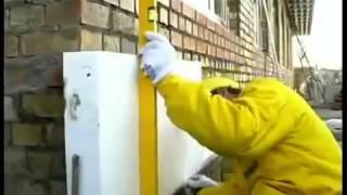 Полимин Утепление фасада  Пенопластом  Видео Урок   Сделай Сам