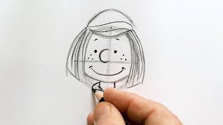 Sketch School at Home - Peppermint Patty