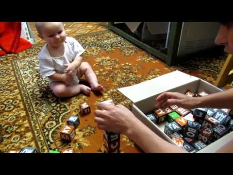Семья Бровченко. С какого возраста можно начинать заниматься кубиками Зайцева.