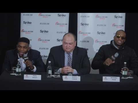 Bellator London Paul Daley and MVP get heated at press conference