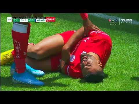 Toluca [3] - 1 Atletico San Luis (A. Canelo 49')