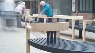 Tudor Arcade Public Bench By Simon Thomas Pirie Furniture