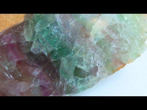Флюорит, красивый полихромный минерал, Mineralog