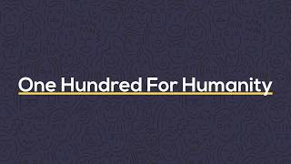Ubiquity Retirement + Savings: One Hundred for Humanity