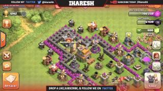 Clash Of Clans - TH7 Death Row (Troll Base)