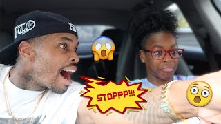 TEACHING MY 11yr DAUGHTER HOW TO DRIVE!! ( SCARY)