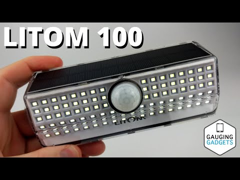 LITOM 100 LED Solar Motion Lights Review – Best Outdoor Solar Lights
