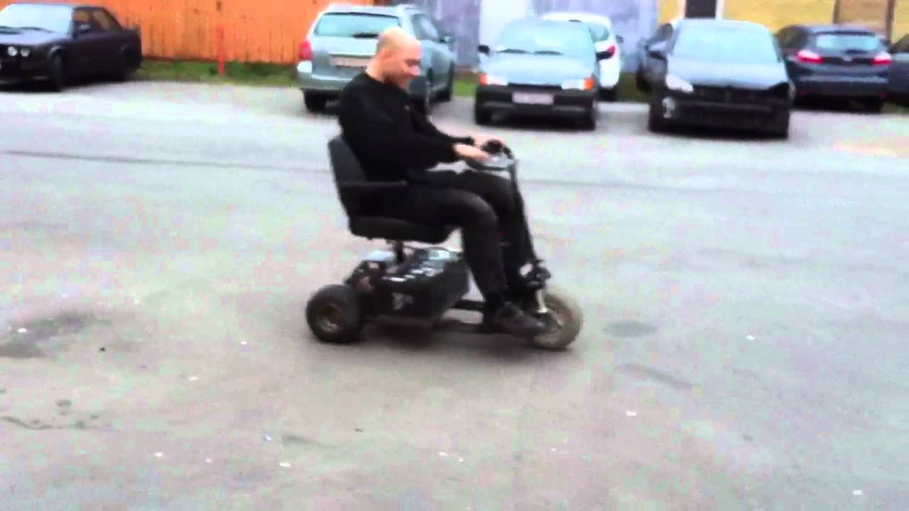 Electric Scooter Wheelie