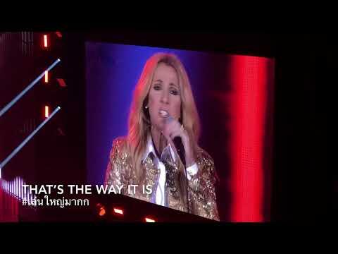 Celine Dion Live Concert In Bangkok 2018