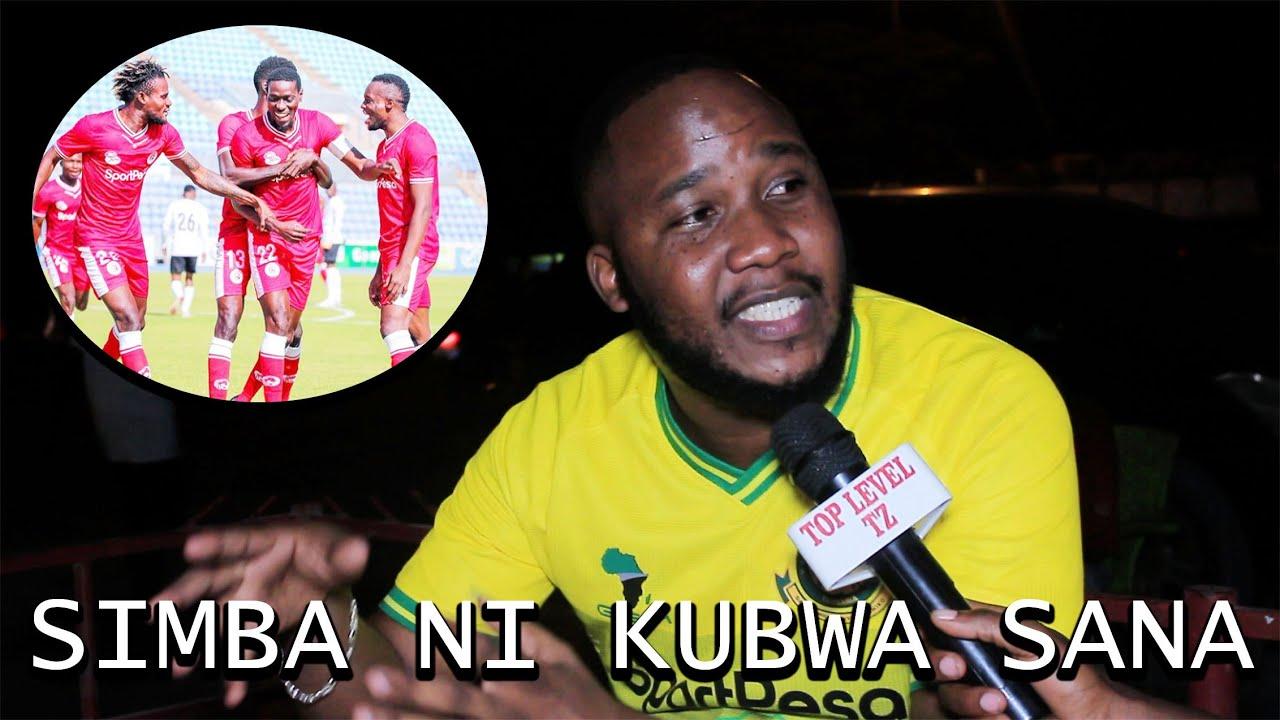 Download MSIKIE  SHABIKI WA YANGA/ SIMBA NI KUBWA SANA HATUFANANI NAO INATUBEBA HATUBEBEKI/ HADI AIBU......