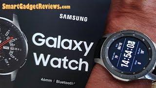 Samsung Galaxy Watch 46mm Review Setup 2018 NEW*